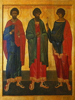 Anthony, John, and Eustathius Russian Orthodox martyrs