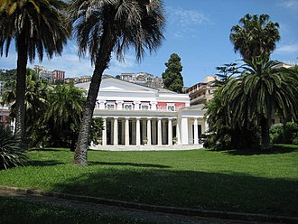 Villa Pignatelli - Image: Villa Pignatelli and its garden, Naples