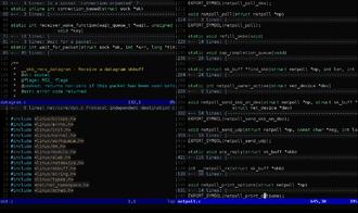 Vim (text editor) - Image: Vim (logiciel) console