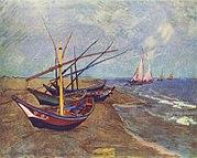 Barques des Saintes-Maries-de-la-Mer (1888)