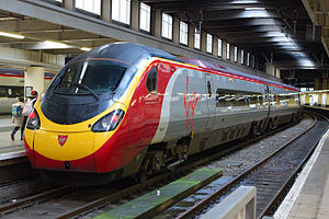 Ein Pendolino von Virgin Trains