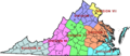 Virginia State Police Division Map.png
