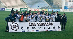 2008 Latvian Higher League - FK Ventspils - champions for third time in the row