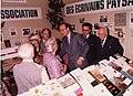 Visite de Jacques Chirac au stand des Ecrivains paysans au Parc Expositions de Paris (Salon de l'Agriculture) (1980s).jpg