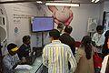 Visitors - Wikimedia Stall - 38th International Kolkata Book Fair - Milan Mela Complex - Kolkata 2014-02-03 8274.JPG