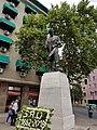 Vivaceta, Fermin estatua por Jose Carocca 20180115 fRF02.jpg
