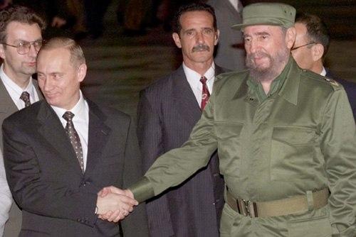 Vladimir Putin in Cuba 14-17 December 2000-1