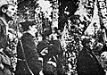 Vodstvo gradnikove brigade na na Polovniku konec aprila 1943.jpg