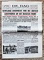 """Voorpagina """"De Dag"""" 24 Juni 1941 met hoofdnieuws """"Geweldige Overmacht van het Duitse luchtwapen op Russisch front."""".jpg"""