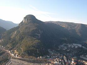 Vue sur le mont Chabot depuis le mont Bayard.