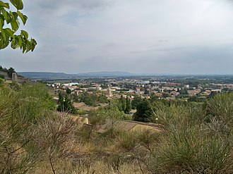 Donzère - A general view of Donzère