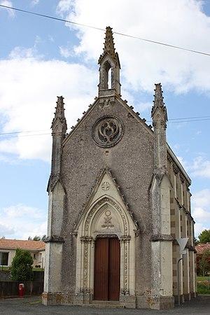 Coron, Maine-et-Loire - The chapel of Vertu