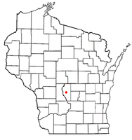 Location of Friendship, Wisconsin