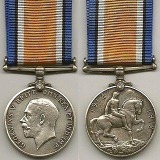 British War Medal WW1 British campaign medal
