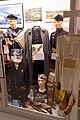 WW2 Nazi German Concentration camp Grini Norway Prisoner's uniform Norwegian gratcoat Yellow badge Zyklon Norske Marine Shoes Whip Kapo etc Lofoten krigsminnemuseum 2019-05-08 DSC09918.jpg