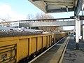 Wagons passing through Havant Station (1) - geograph.org.uk - 1599345.jpg