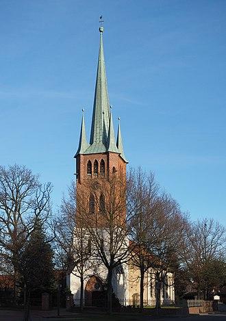 Wahrenholz - Image: Wahrenholz St Nicolai und Catharinenkirche
