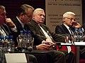 Waldemar Pawlak, Lech Wałęsa i Jerzy Buzek (8036262760).jpg