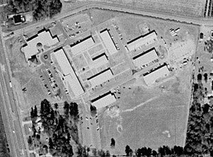 Wallace Community College - Aerial view of the Sparks campus