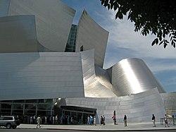نمای تالار کنسرت والت دیسنی