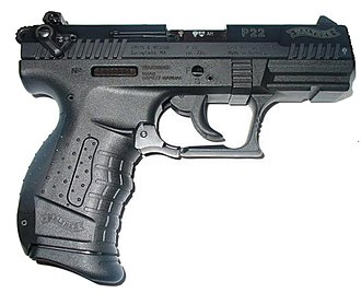 Virginia Tech shooting - Walther P22, one of the two semi-automatic weapons Cho used in the shooting.