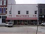 Walton's Five and Dime store, Bentonville, Arkansas
