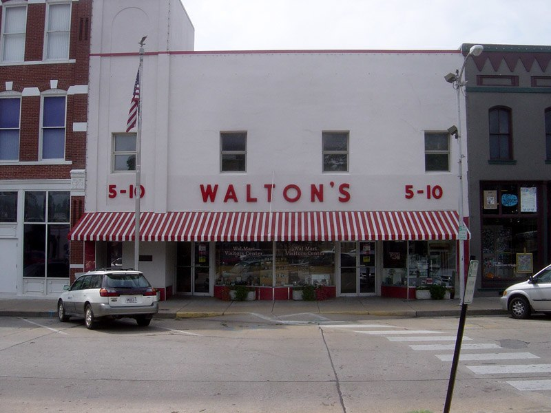 Walton's Five and Dime store, Bentonville, Arkansas