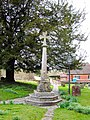War memorial, Holy Rood church, Sparsholt - geograph.org.uk - 362131.jpg