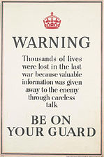 Warning - Be on Your Guard Art.IWMPST13944.jpg