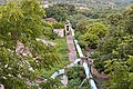 Water distribution pipeline near Gandipet, Hyderabad.jpg