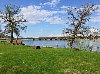 Waterhen River (Manitoba) - Image: Waterhen River 2