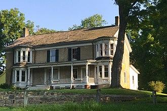 Waterloo Village, New Jersey - Image: Waterloo Village, NJ Smith Homestead House
