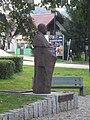 Wegierska Gorka Jerzy Buzek monument.jpg