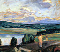 Weisgerber, Albert - Hornata krajina s jezerem (1910).jpg