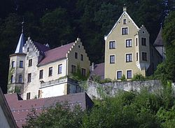 Castle of Lauterstein.