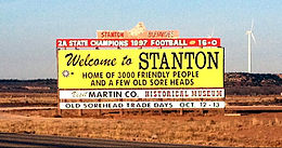 Welcome to Stanton Texas sign Martin County.jpg