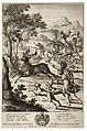 Wenceslas Hollar - Julus hunting the stag of Tyrrheus (State 2).jpg