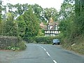 Weobly approach on the B4230 - geograph.org.uk - 1514505.jpg