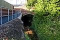 Wesley Brook runs under Victoria Rd, Shifnal - geograph.org.uk - 1353868.jpg