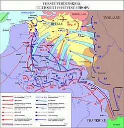 Første verdenskrig – Wikipedia