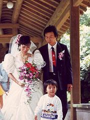 Western wedding dress in Taiwan