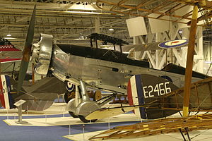 Westland Wallace - Westland Wallace at RAF Museum, London