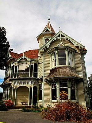 Wharetiki House - Wharetiki House in March 2011