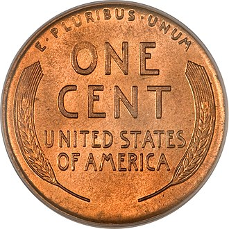Coins of the United States dollar - Image: Wheatback 2014