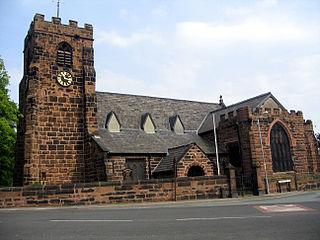 St Lukes Church, Farnworth Church in Cheshire, England