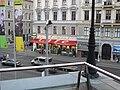 Wien Café Raimund vom Volkstheaterbalkon.jpg