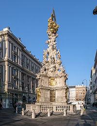 Wien Graben Pestsäule Ostseite.jpg