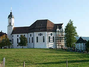Wieskirche - Image: Wieskirche boenisch okt 2003
