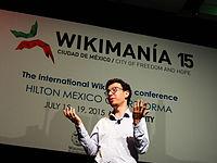 Wikimanía 2015 - Day 4 - Luis von Ahn conference - LMM (19).jpg