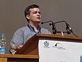 Wikimania 2008 - Closing Ceremony - Michael Snow - 12.jpg